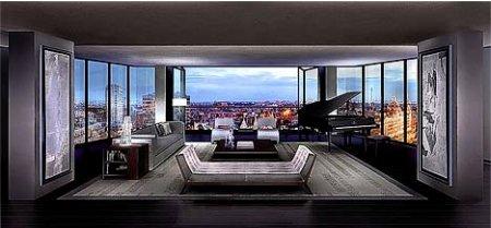 l appartement le plus cher au monde une vie de luxe. Black Bedroom Furniture Sets. Home Design Ideas